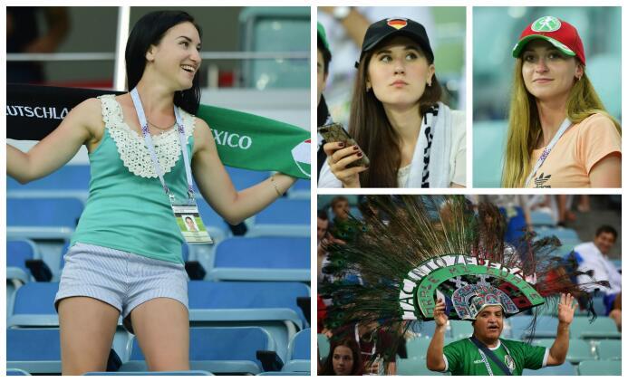 Belleza y sentimiento mexicano se tomaron el Olímpico de Sochi Aficion M...