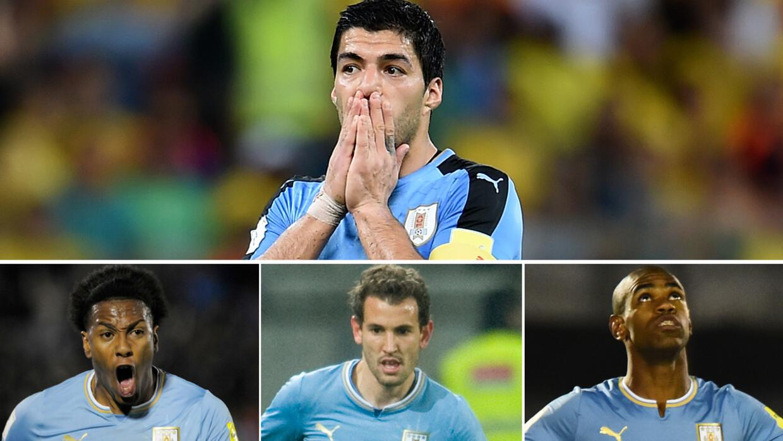 ¿Quién supliría a Luis Suárez en Uruguay?