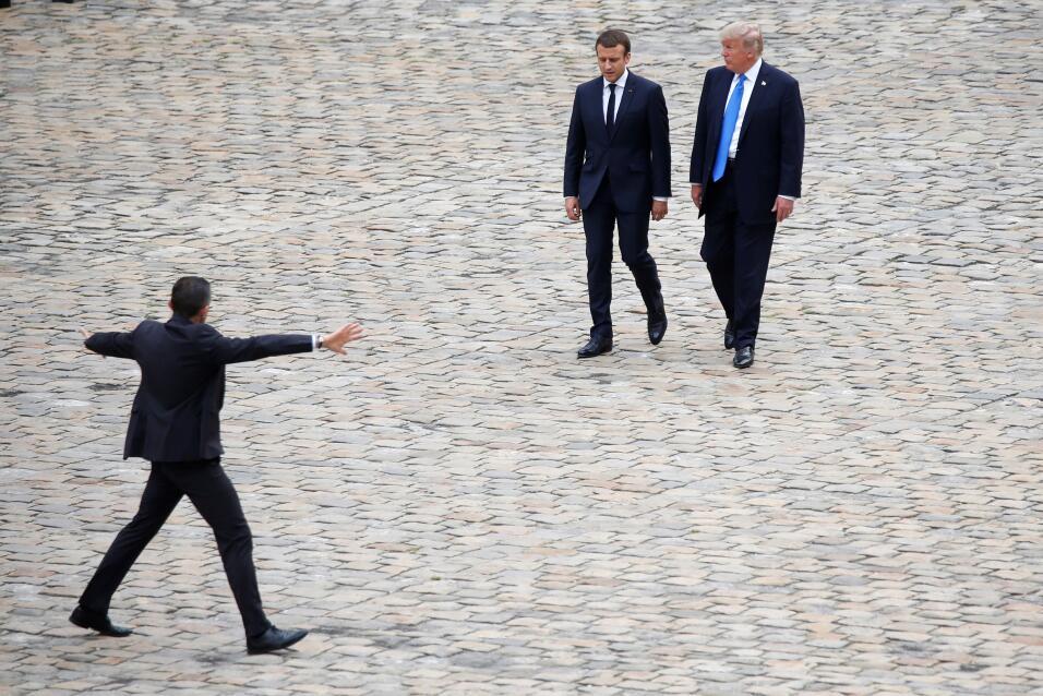 Trump en Paris