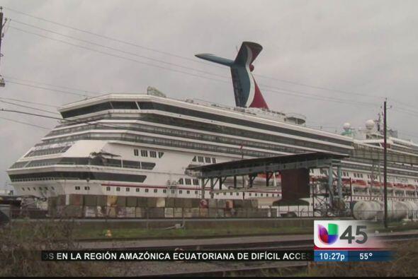 El barco Carnival Triumph, que dio tanto de que hablar tras quedarse var...