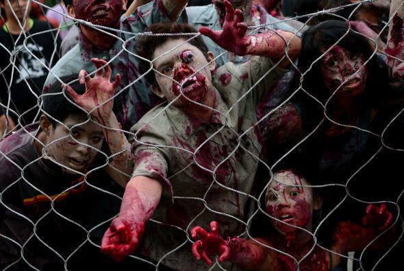 Sólo hay que ver a estos delirantes zombis que se preparan para u...