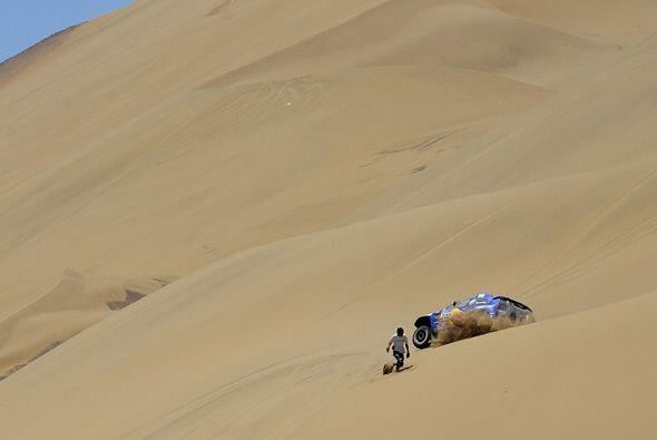 La imprudencia del público fue una constante en las dunas entre Calama e...