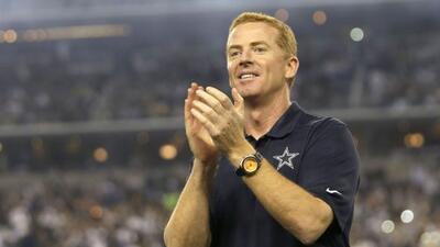Jason Garrett siempre ha contado con el respaldo de Jerry Jones (AP-NFL).