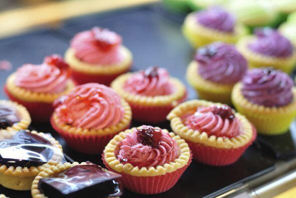 Una variante deliciosa de un bocadillo horneado son las 'mini' tartas de...