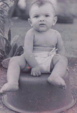 Este niño desde bebé tenía pinta de galán. &...