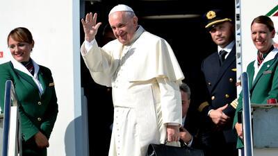 Papa Francisco va rumbo a Cuba