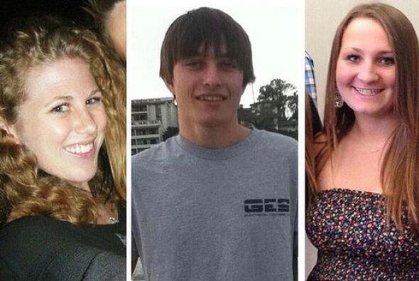 Dos de ellas murieron en las afueras de la casa de la fraternidad 'Alpha...