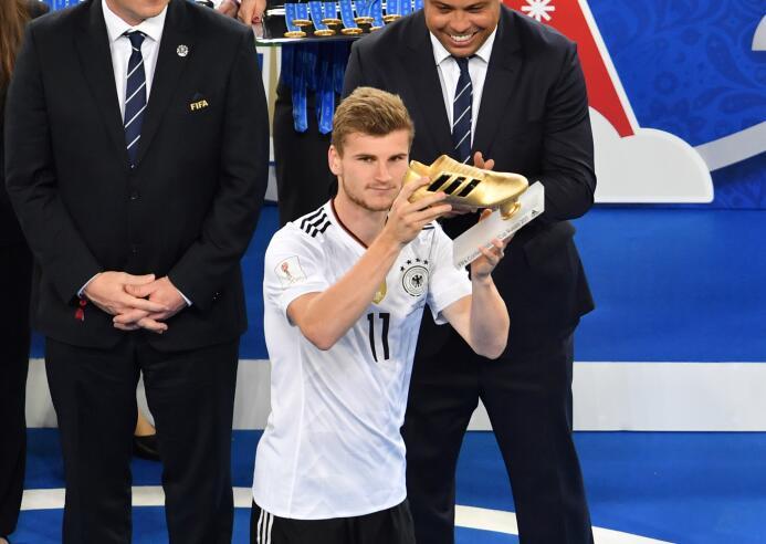 Alemania ganó el título que le faltaba, la Confederaciones Getty Timo We...