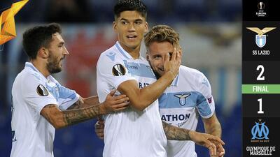 La Lazio eliminó de la UEL al vigente subcampeón Olympique de Marsella
