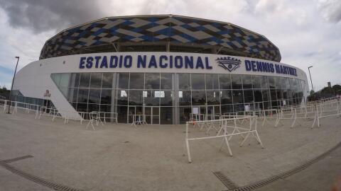 El espectacular nuevo Estadio Nacional Dennis Martínez, en Managu...