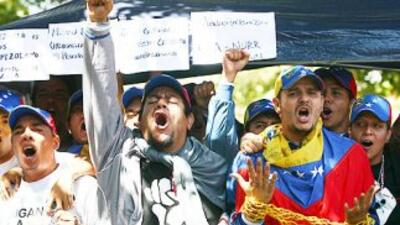 El movimiento estudiantil venezolano le declaró la guerra al chavismo y...