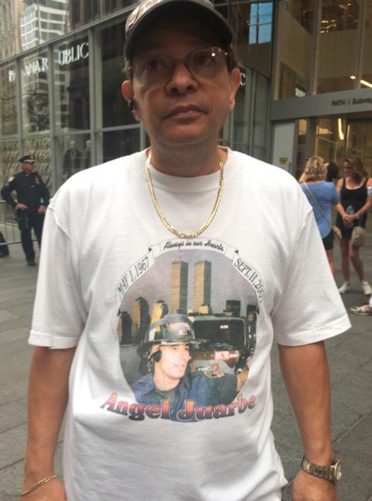 El puertorriqueño Luis Juarbe, residente en El Bronx, recuerda a su hijo...