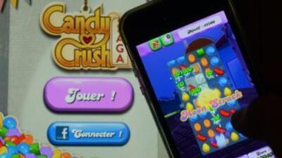 El adictivo juego Candy Crush.