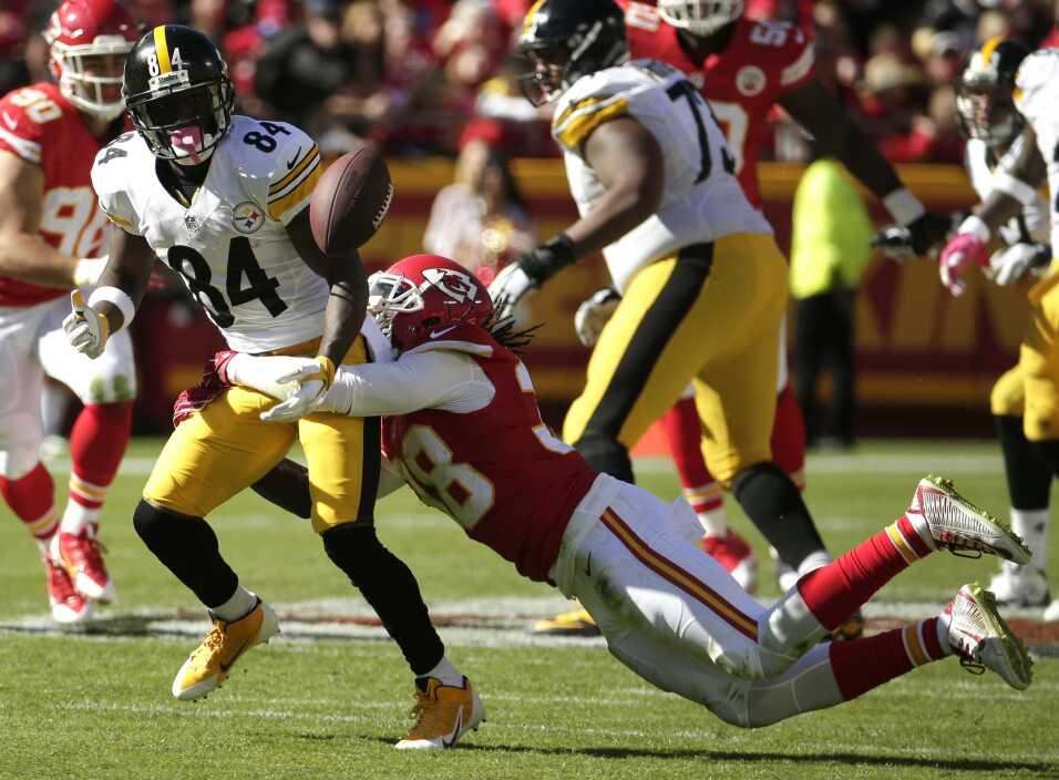 Los Kansas City Chiefs vencieron 23 - 13 a los Pittsburgh Steelers, Sema...