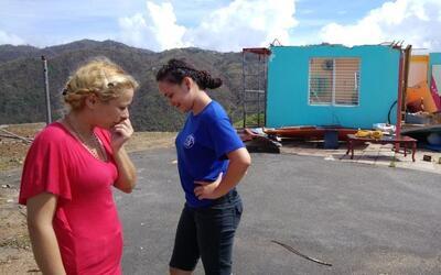 La comunidad de Morovis sufrió graves daños en sus viviend...