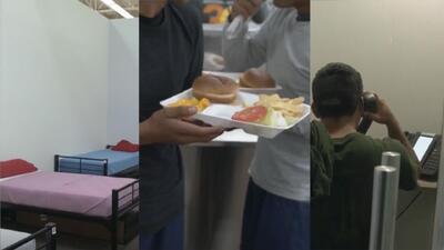 (Video) Imágenes muestran la realidad de un albergue en la frontera para menores migrantes