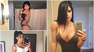 Michelle Lewin, una venezolana de infarto que se ha convertido en una estrella del fitness