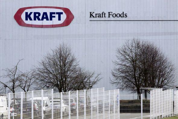 """KRAFT FOODS """" La empresa se colocó en la quinta posición de la lista de..."""