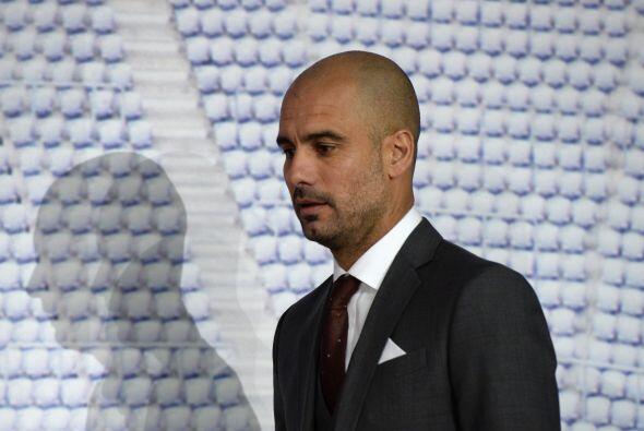 El entrenador español Josep Guardiola sería presentado como nuevo timone...
