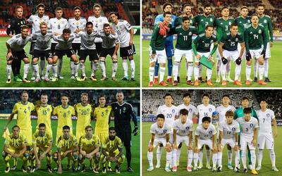 Grupo F del Mundial con Alemania, México, Suecia y Corea del Sur
