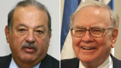 Carlos Slim y Warren Buffett han realizado sendas inversiones en periódi...
