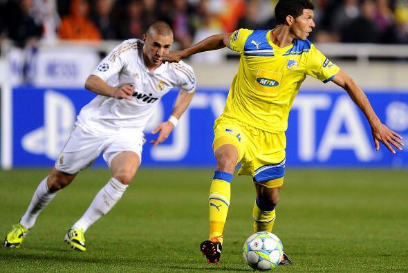 APOEL llegó al medio tiempo sin encajar gol alguno. Para la parte comple...