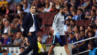"""Valverde: """"Es un alivio tener a Messi y un problema para el que lo enfrenta"""""""