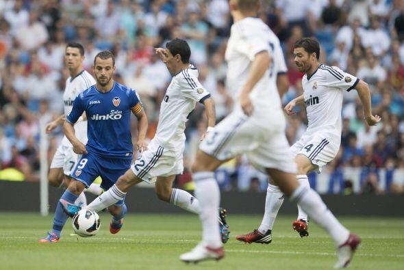 En la segunda mitad, el Madrid hizo todo lo posible para volver a adelan...