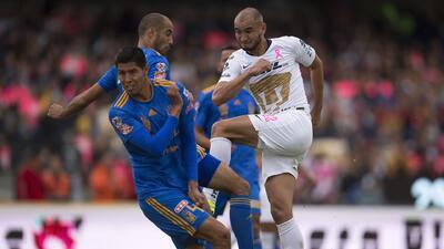 Pumas 3-3 Tigres: Revive los goles del partido