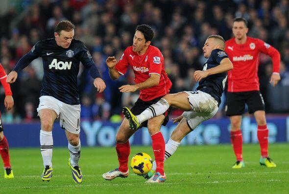 Aún hubo algunos esfuerzos del cuadro de Manchester por ganar.