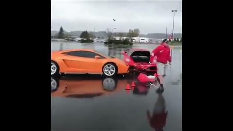 En video: Ferrari F430 v. Lamborghini Gallardo