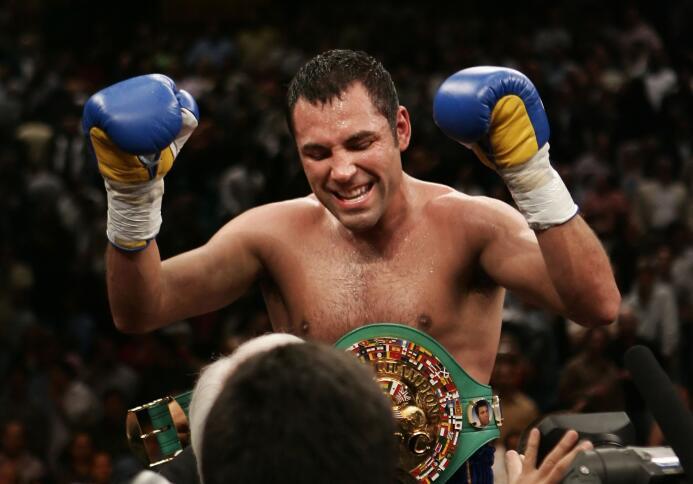 Oscar de la Hoya marcó un momento importante en el boxeo mundial. Sus ra...