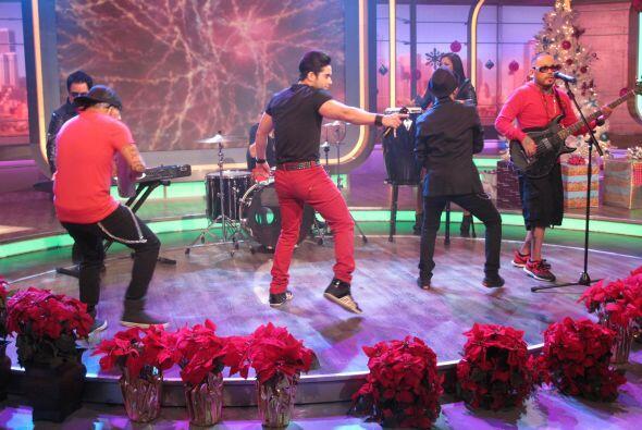 Aquí empezaron a bailar y mostraron sus mejores pasos.