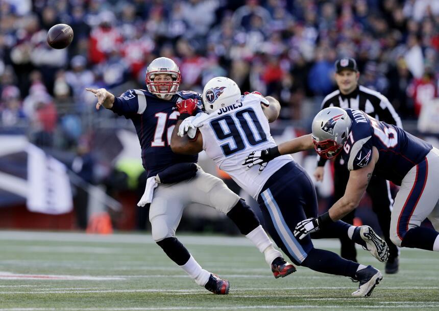 Los Patriots están de vuelta para llevarse el título de la AFC al derrot...