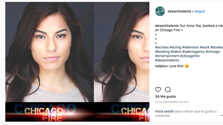 """Anna Yee contratada por """"Chicago Fire"""""""