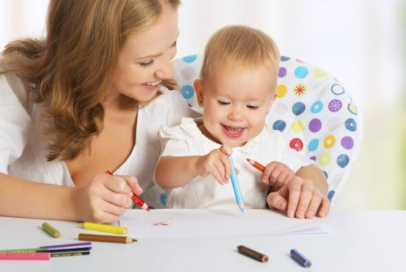 Un niño que es estimulado también tiene mayores habilidades para la comu...