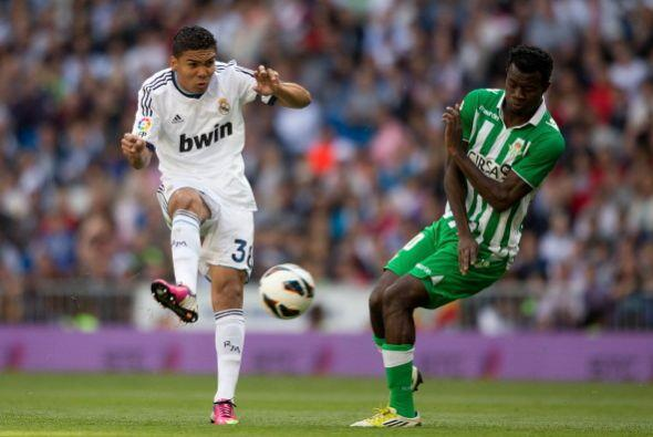 El canterano brasileño Casemiro debutó en el primer equipo y tuvo buena...