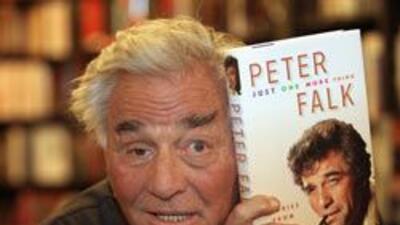 Peter Falk, el detective Colombo, sufre de Alzheimer.