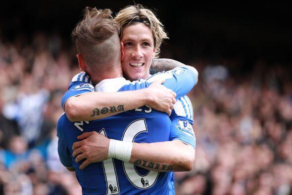 El español Fernando Torres se reencontró con el gol.