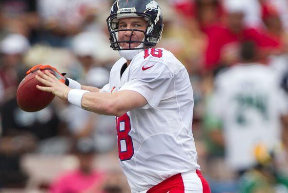 14 apariciones - Peyton Manning, quarterback (1998-presente).