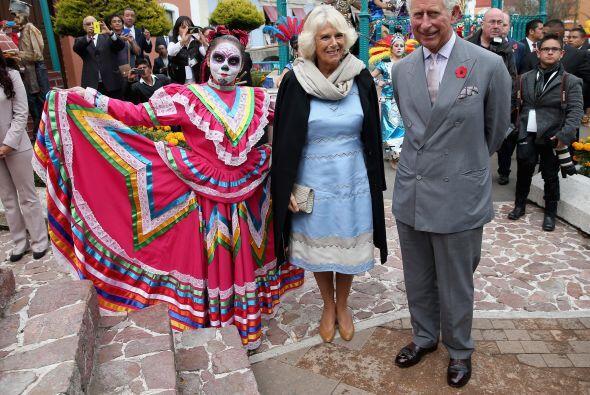 Charles y Camilla llegaron al pueblo mágico de Real de Monte (estado de...