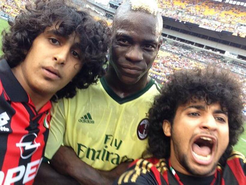 Durante la pretemporada 14/15 el A.C. Milan enfrentó al Manchester City...