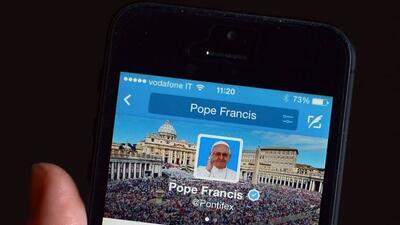 """""""Recen por mí"""" publicó el Papa Francisco en su cuenta de twitter"""