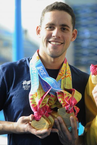 El nadador Thiago Pereira se convierte, con 12, en el deportista brasile...