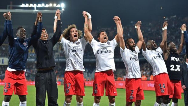 El París derrotó al Montpellier para ganar su quinto título de la Ligue 1.