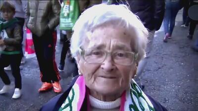 ¡Amor genuino! Abuelita aseguró que no se ha casado porque nada más quería al Betis