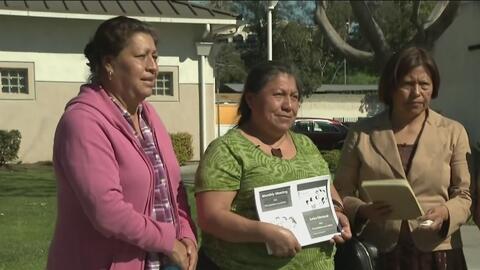 Familias que viven en proyectos habitacionales de gobierno, preocupadas...