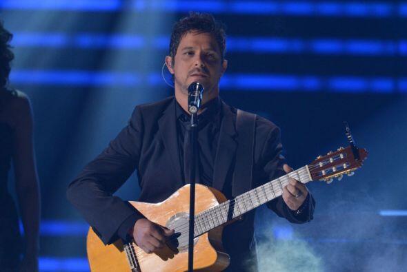 Alejandro Sanz fue otro de los elegidos para recibir este galardón en 2013.