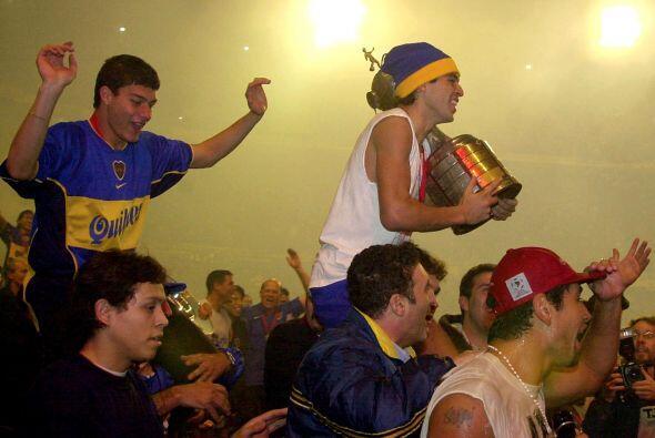 La Copa Libertadores le sirvió a Riquelme y al Boca Juniors como trampol...