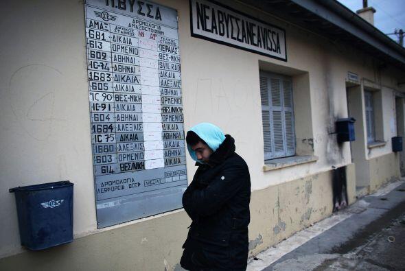 Desde el comienzo de 2010, la policía griega interceptó a 34 mil persona...